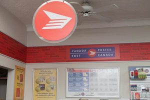 Sullivan's Pharmacy, post office, canada post peterborough